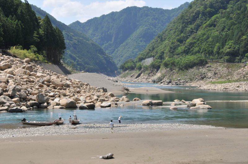 熊野川川舟下り