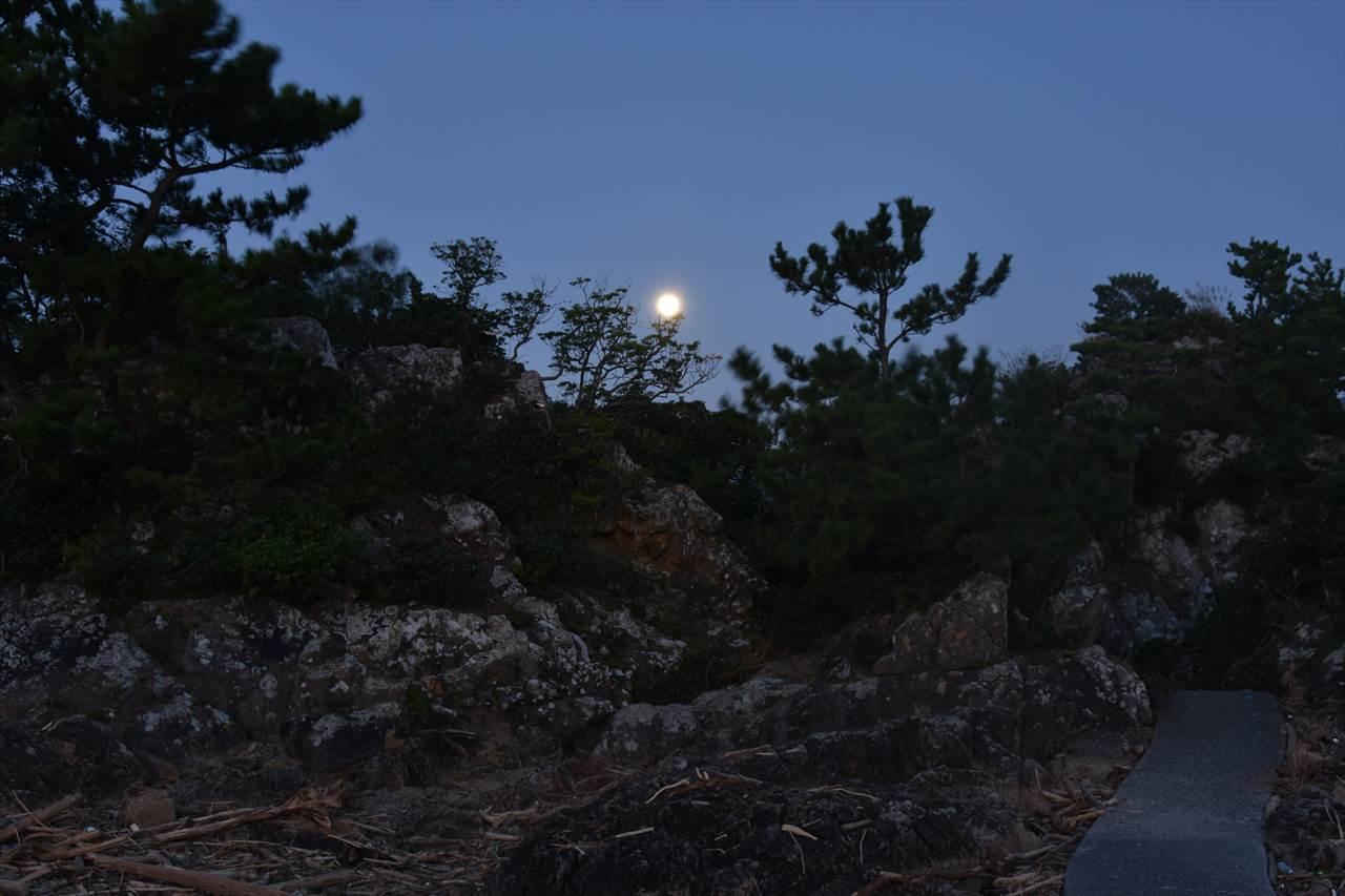 鈴島の夜明け
