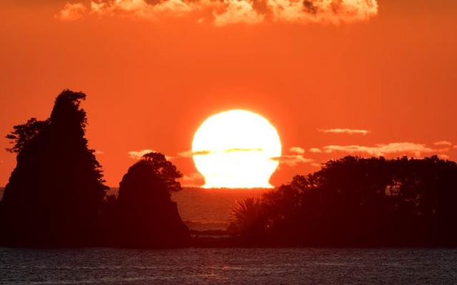 Dawn of Kumano