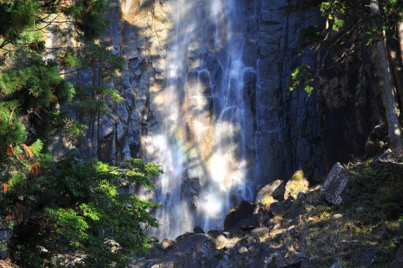 那智大滝の虹