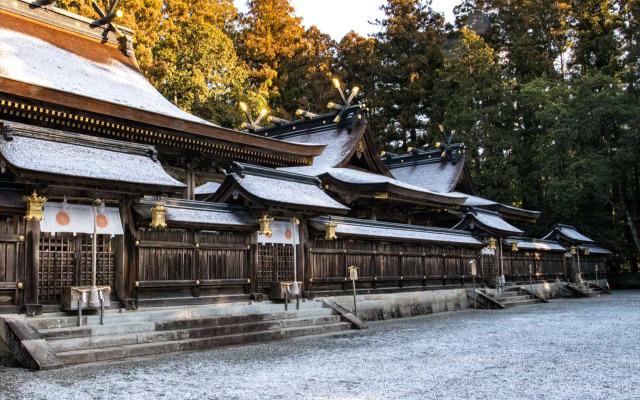 Kumano traveling in winter
